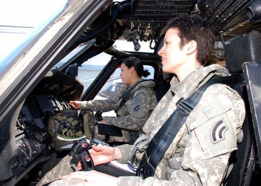 New York Army National Guard Women Fly High