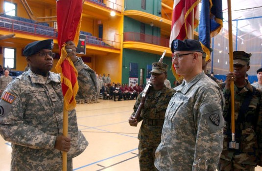 New Commander for 369th