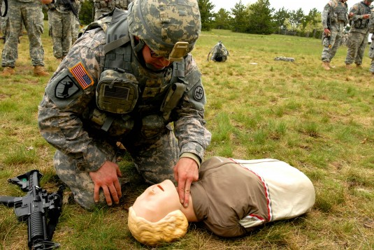 First Aid Training at Fort Drum