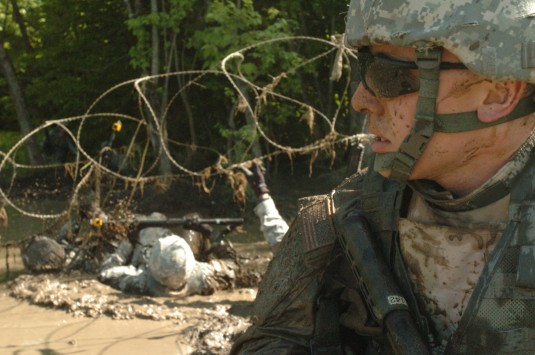 Troops Train for Combat Deployment