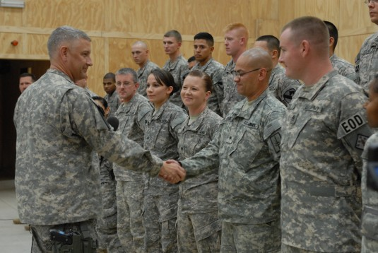 Guard Soldier Recognized