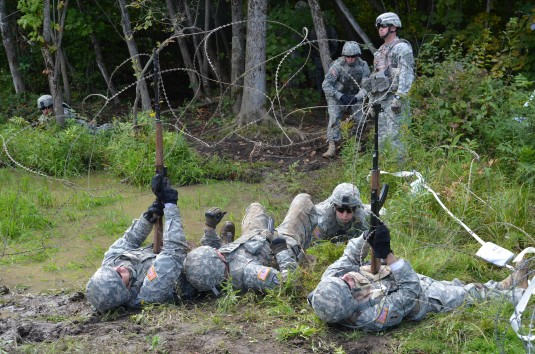 Aviation Soldiers Train at Fort Drum