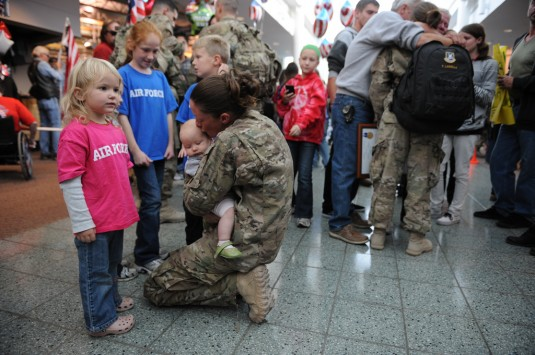 Guard Airmen Back from Afghanistan.