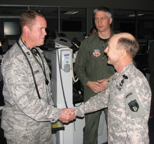 NORAD Head Visits Eastern Air Defense Sector