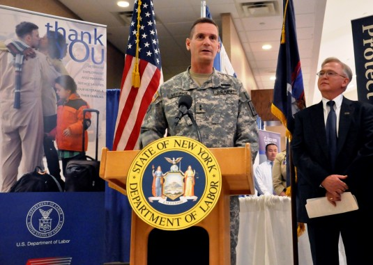 Adjutant General Urges Employers to Hire Veterans