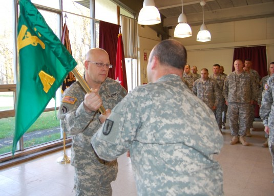 Guard Training Unit Welcomes New Leadership