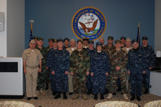 Naval Militia Members Gather at Scotia Center