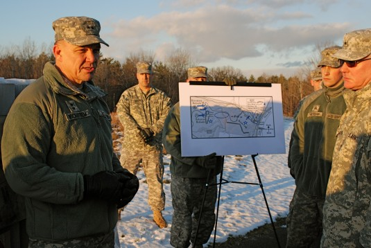 General leads tour of battlefield