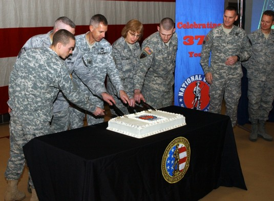 Guard Marks 375th Birthday