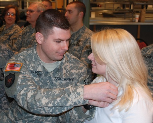 Soldier Shares Honor With Loved One