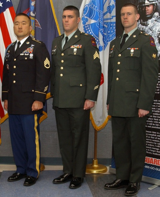 A Korean-American police officer, a community college student, and a human resources NCO were named as the Best Warriors for the New York Army National Guard following a weekend event March 24-25 at state Headquarters.