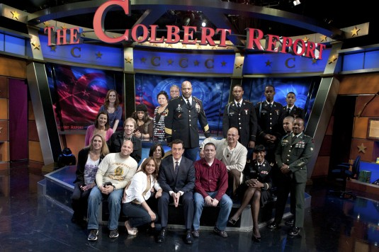 Talk Show Host Invites Guardsmen and Families