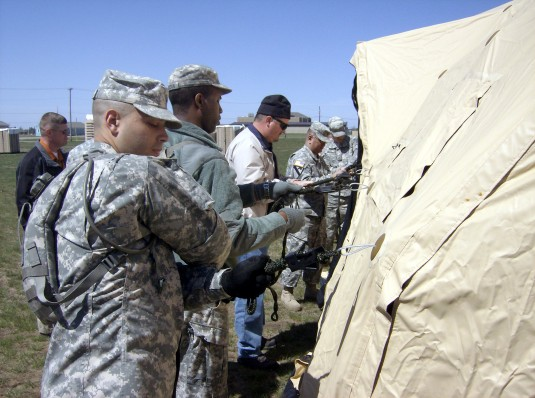 42nd Headquarters Battalion Preps for Digital Age