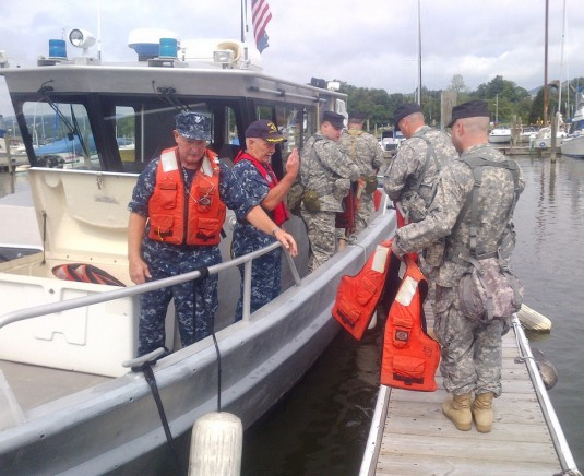 Naval Militia and New York Guard Train Together