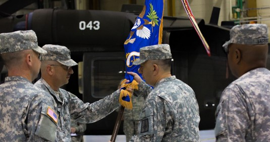 The 3-142nd Receives New Commander