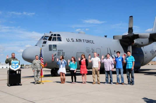 107th Enlists New Airmen on Sept. 11