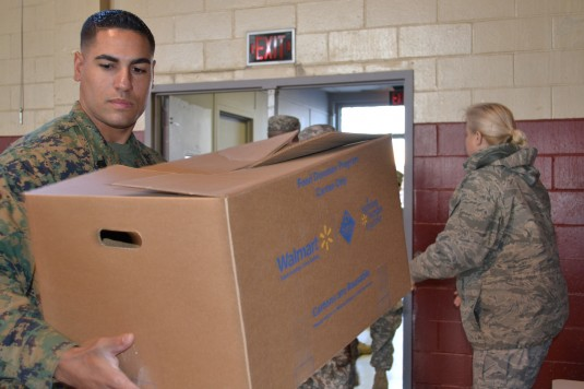 Joint Effort to Deliver Holiday Meals