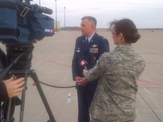 Air Wing Welcomes New Commander
