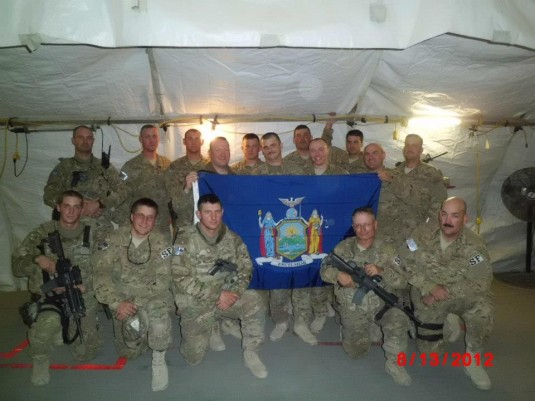 New York Airmen in Afghanistan