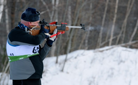 New York Guardsman Competes in Biathalon
