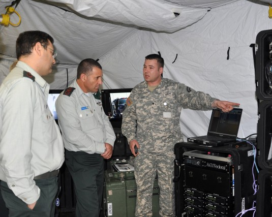 NY shares communication capabilities with Israeli Defense Force Home Front Command