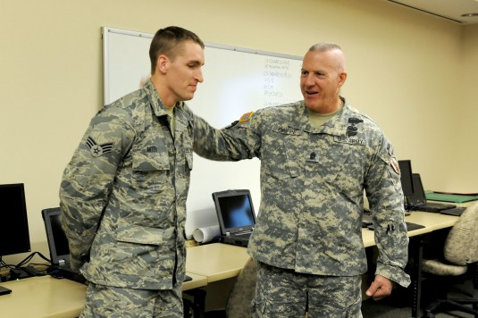 U.S. CENTCOM Army Command Sgt. Major visits NY