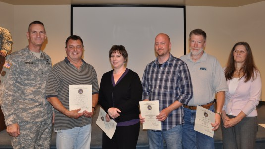 State Employees Honored by Adjutant General