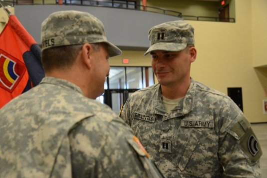42nd Signal Company Changes Command