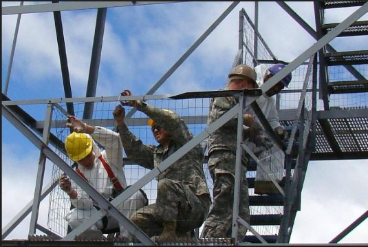 Engineers Finish Fire Tower Project