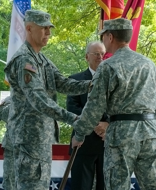 Historic Change of Command at Watervliet Arsenal