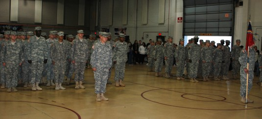 Aviation Soldiers Prepare for Deployment