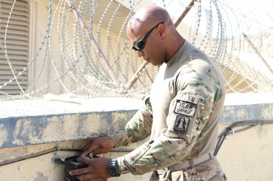 New York Air Guardsman On Duty In Afghanistan