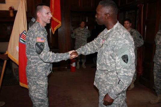 Battalion Changes Command in Harlem Hellfighters