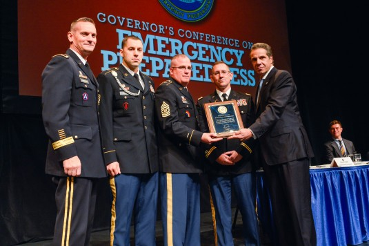 Governor Honors National Guard Disaster Response