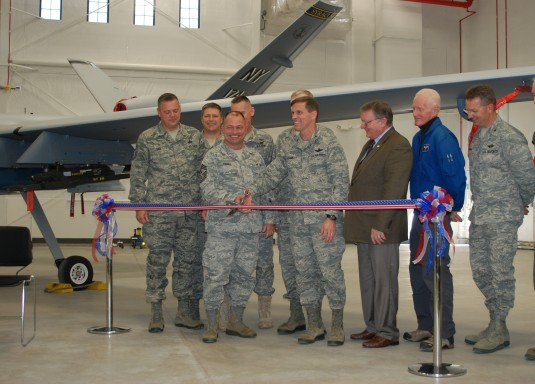 MQ-9 Hangar Opens at Fort Drum