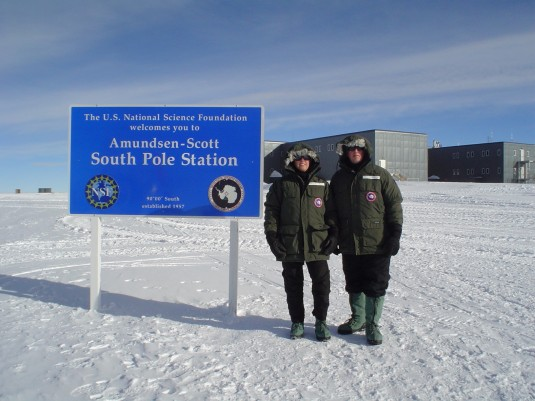 New York NCOs at South Pole