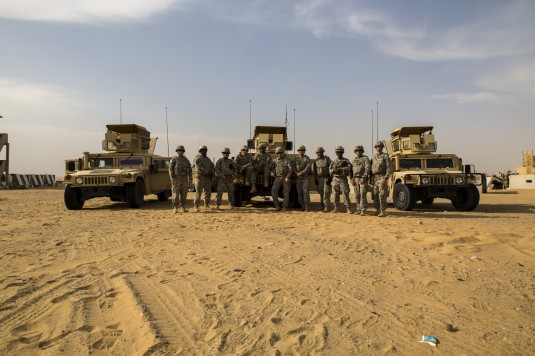 Air-Ground Exercise in Kuwait