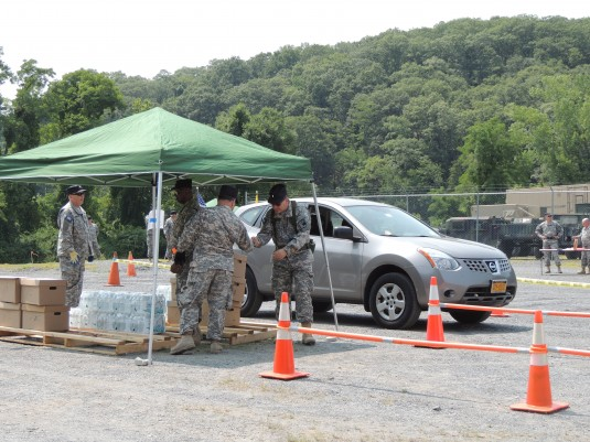 New York Guard Conducts Supply Exercise