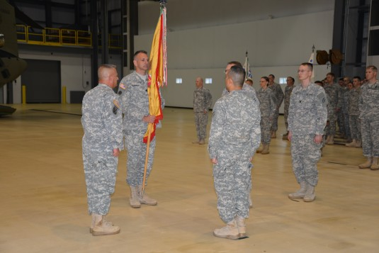 New  Commander for Aviation Support Troops