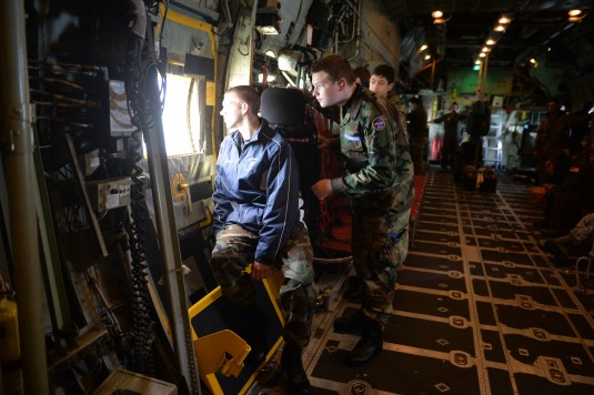 Civil Air Patrol Members Get Air Guard Eye View