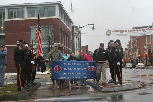 Christmas Eve Road March in Glens Falls