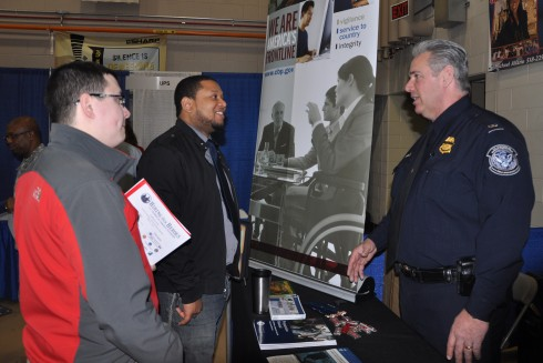 Job Fair at Guard Headquarters