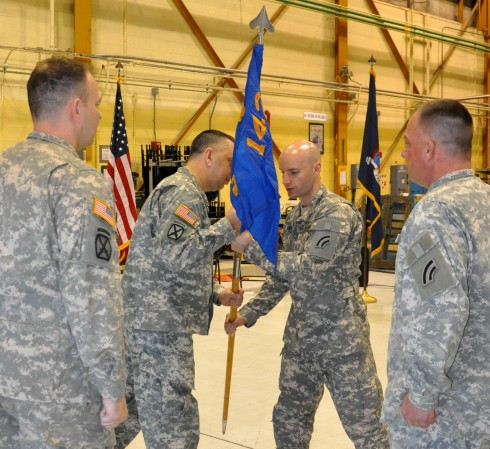 New Commander for A Co. 3-142nd Aviation