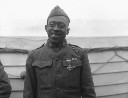 New York National Guard Sgt. Henry Johnson, a member of the 369th Infantry Regiment, the Harlem Hell Fighters who died in 1929 will be honored with a posthumous Medal of Honor today at the White House. New York Army National Guard Command Sgt. Major Louis