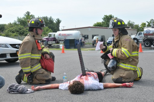 Emergency Drill at Stratton Air Base