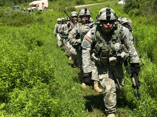 2-108th Soldiers Conduct Live Fire at Fort Drum