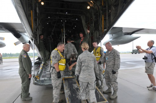 Medical Evacuation Drill at 109th Airlift Wing