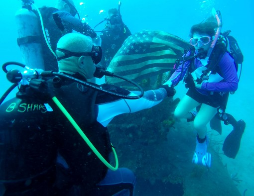 An Under the Waves Reenlistment