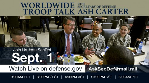 Defense Secretary To Hear from Troops