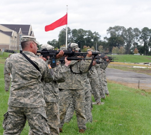 NY and Mass Irish Regiments Compete at Camp Smith
